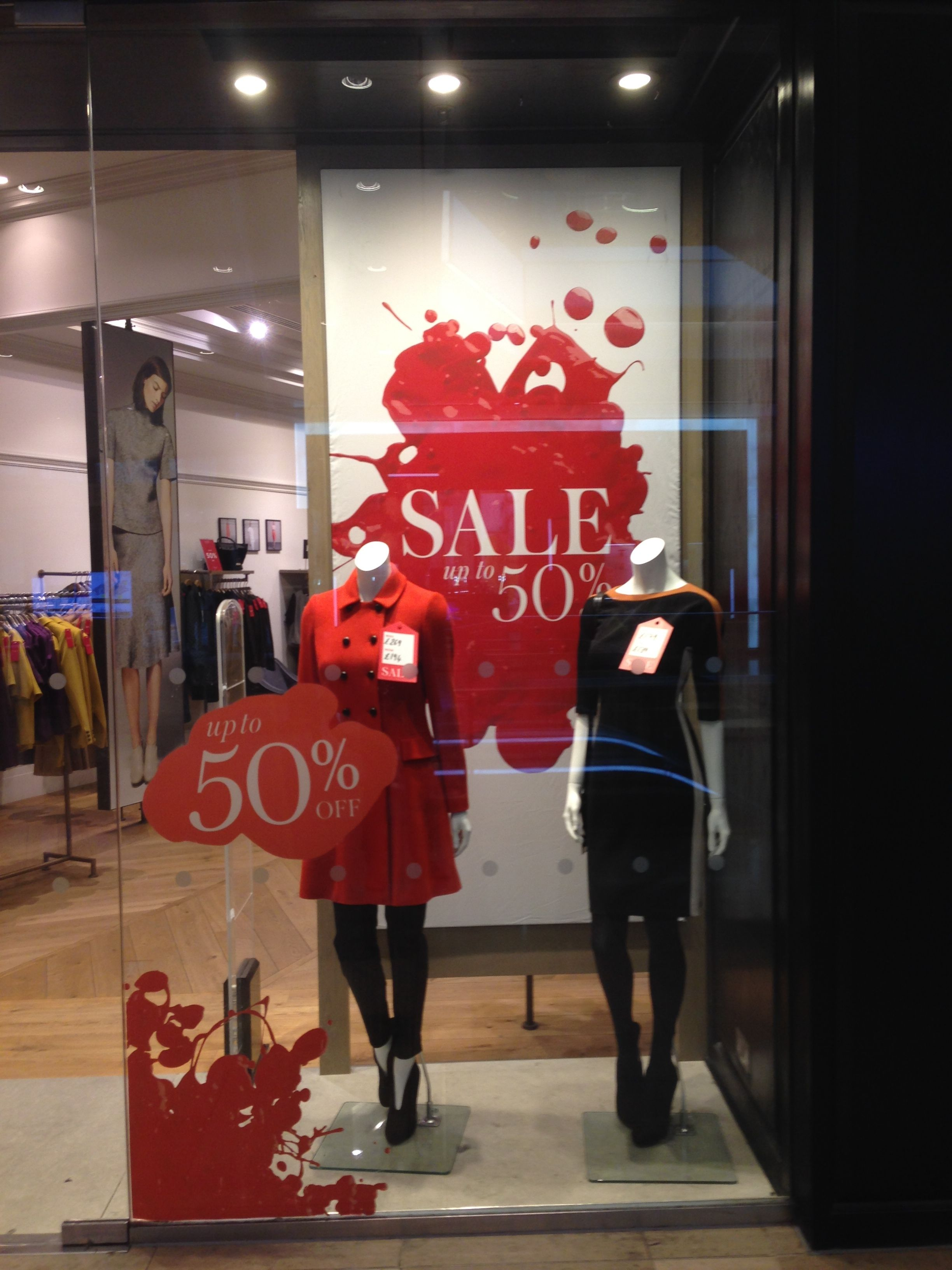 Sale Displays Are Usually So Boring This Is Great Windowdisplay