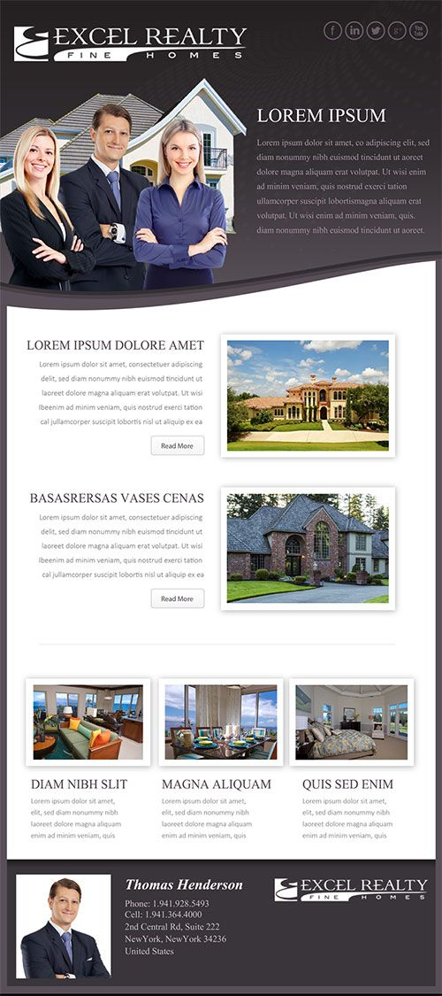 Custom Real Estate Email Flyer For More Information Visit Http
