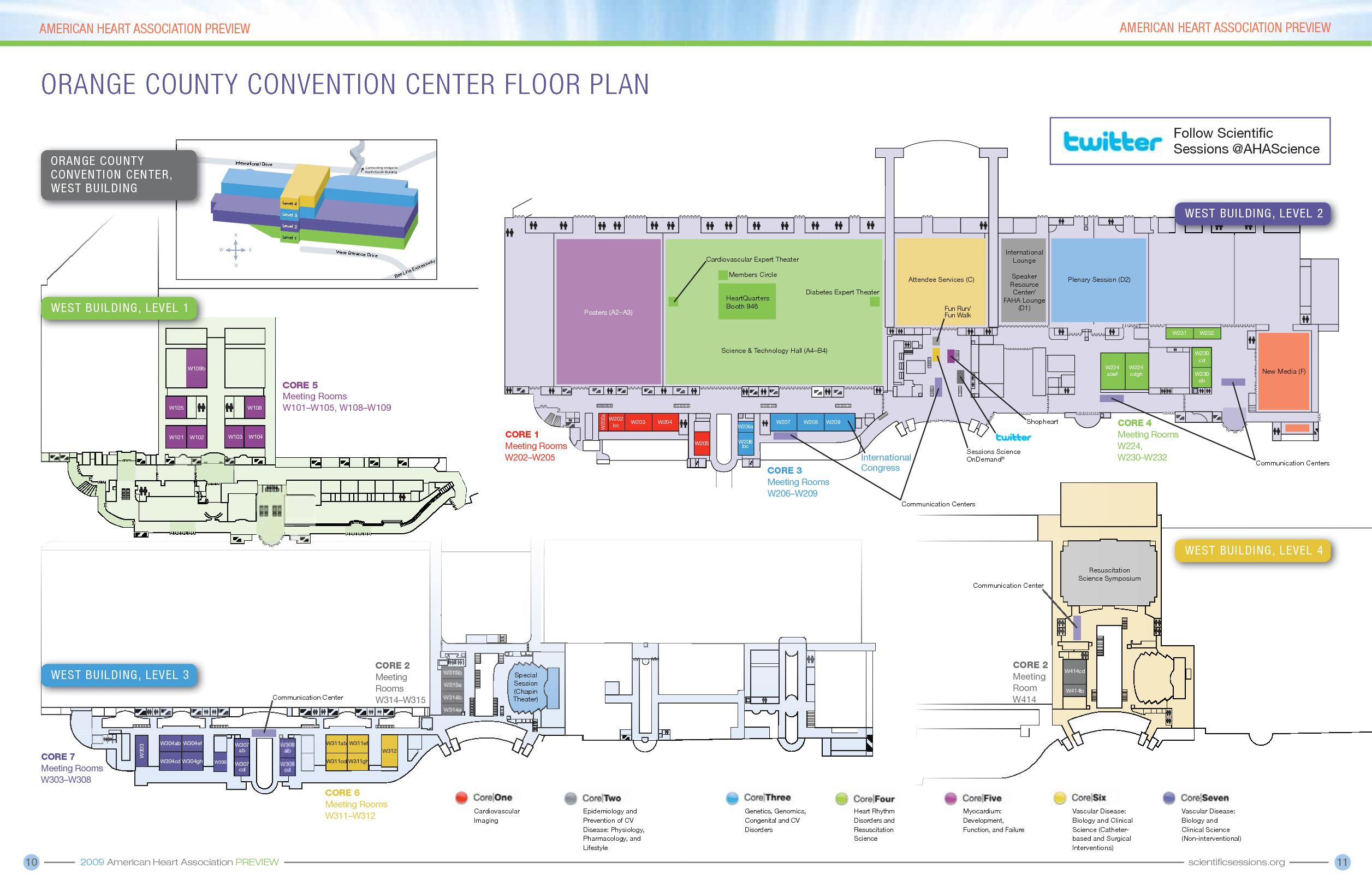 Orange County Convention Center Floor Plans Orange