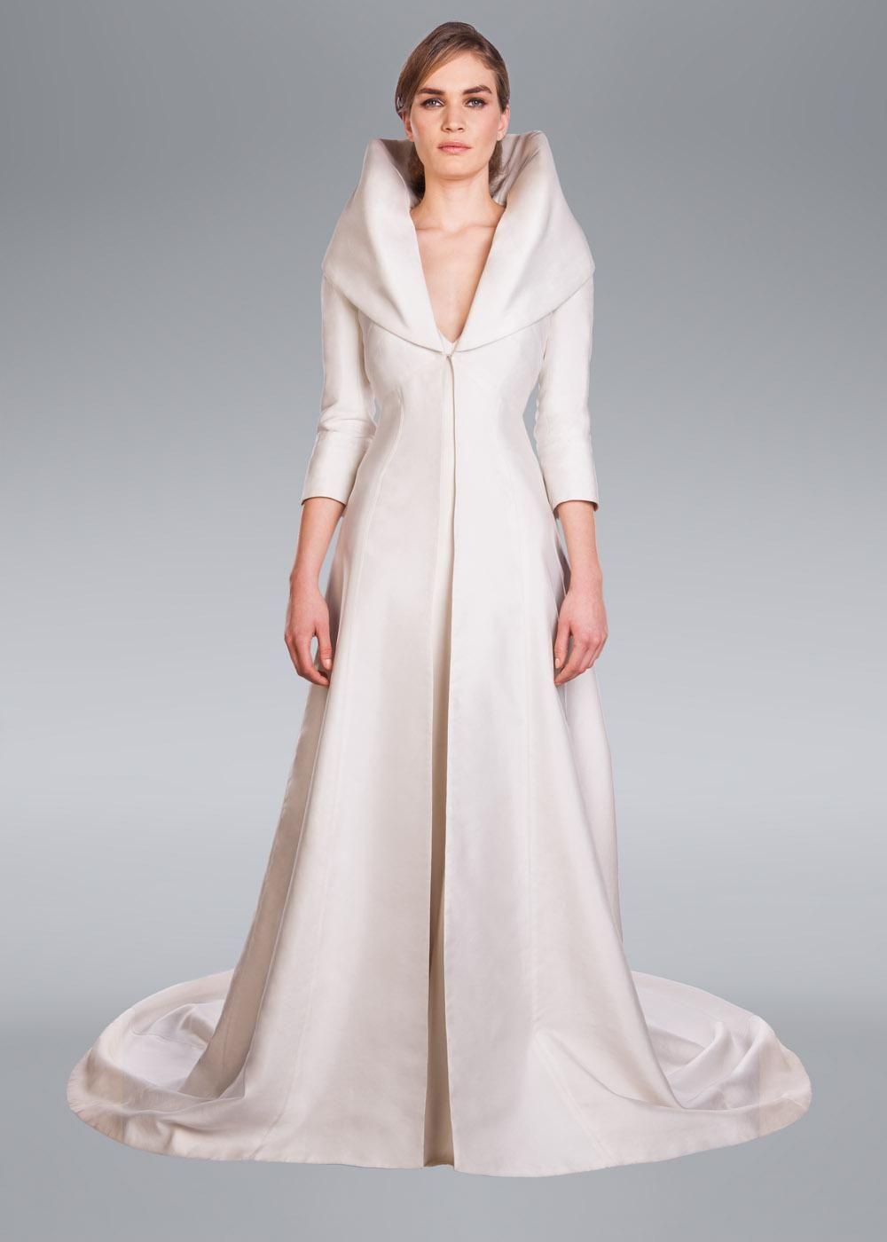 Alberta Wedding Coat, Amanda Wakeley Designer Clothes | OTT party ...