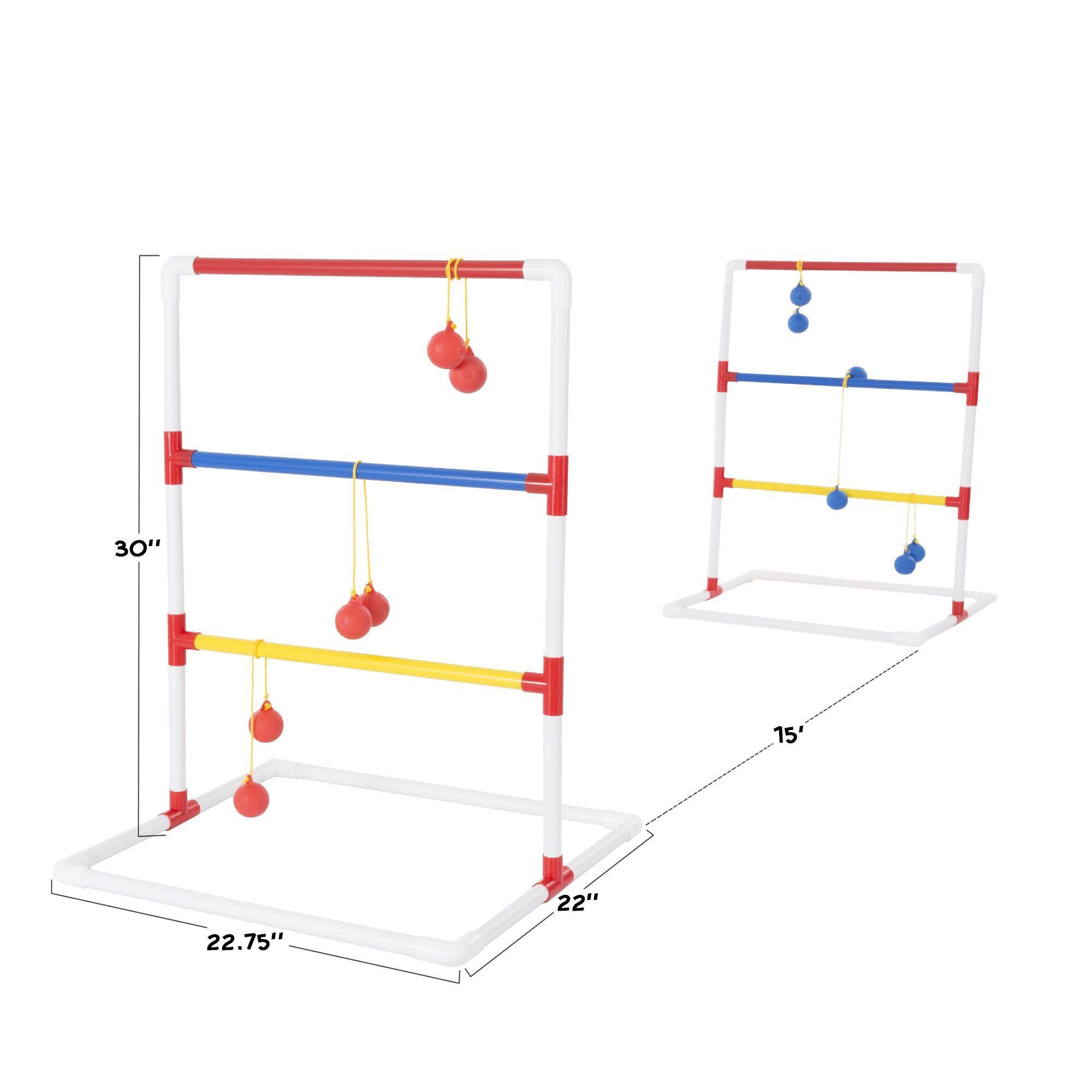 Ladder Toss Plastic Outdoor Game Set Ladder Toss Outdoor Games Cornhole Set