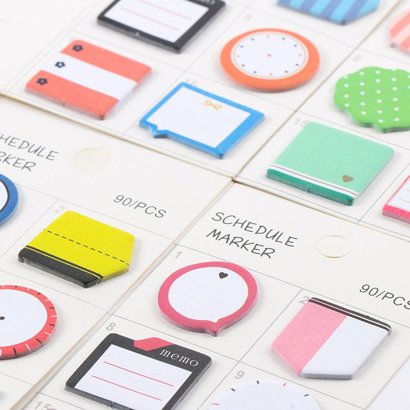 Beau Aliexpress.com : Buy (90/PC)Memo Pad Kawaii Stationery Office Supplies Post  It Diy School Stationery Scrapbooking Sticky Notes Cute Planner Paper From  ...