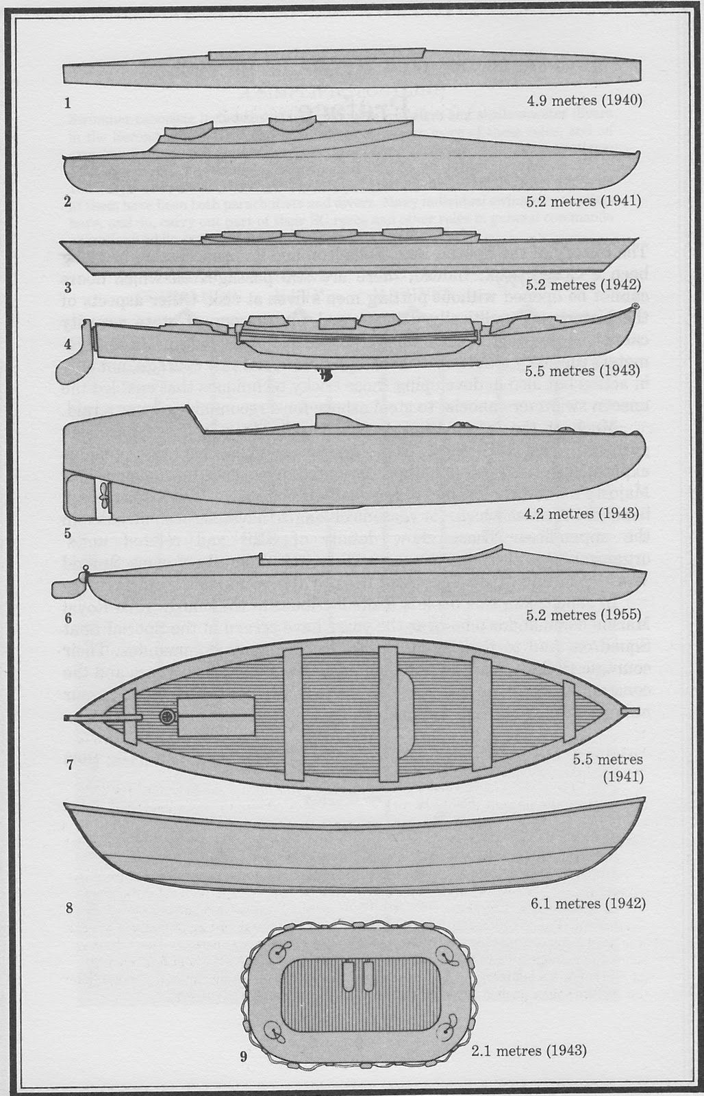 Drawings Of Representative Cockles And Other Craft Employed By