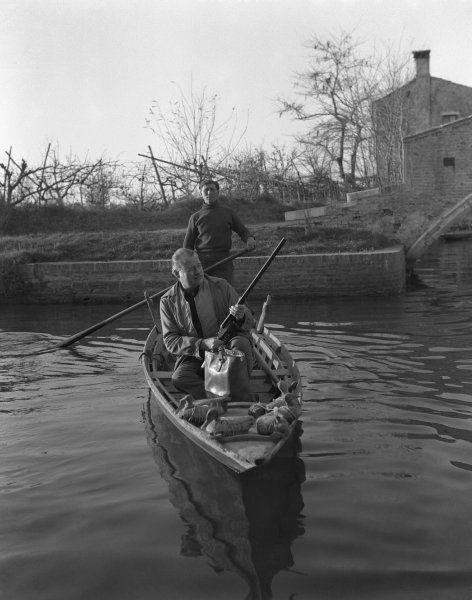 Hemingway @ Torcello, Venice
