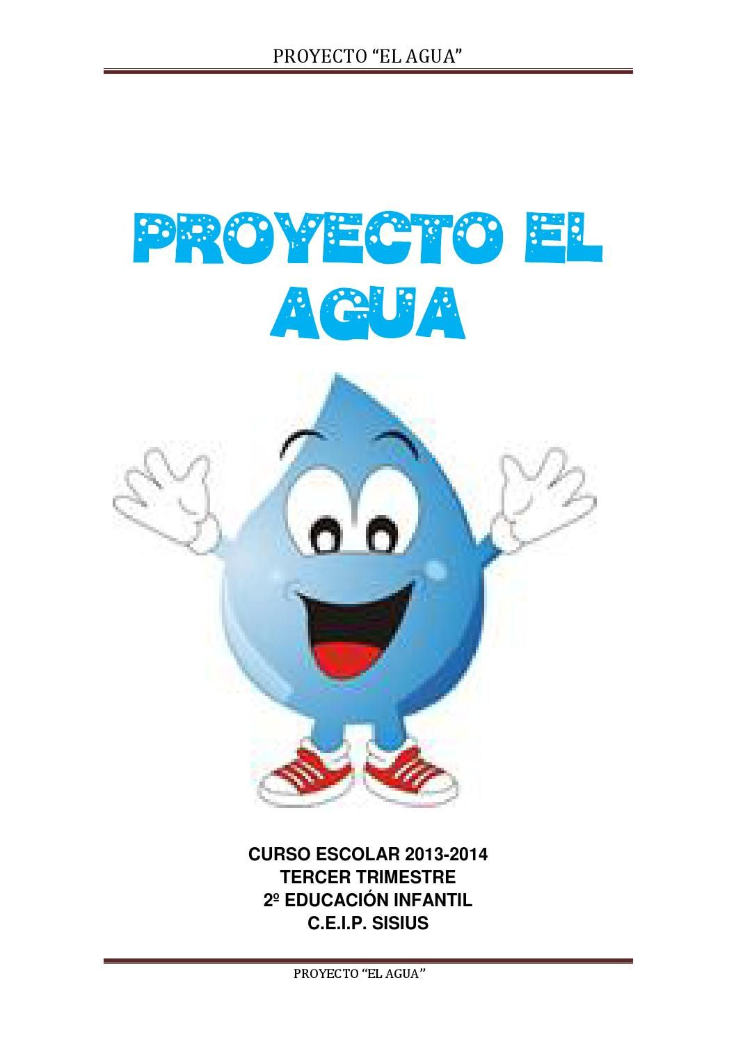 Proyecto El Agua Experimentos Con Agua Proyectos Educacion Infantil Proyectos Para Preescolar
