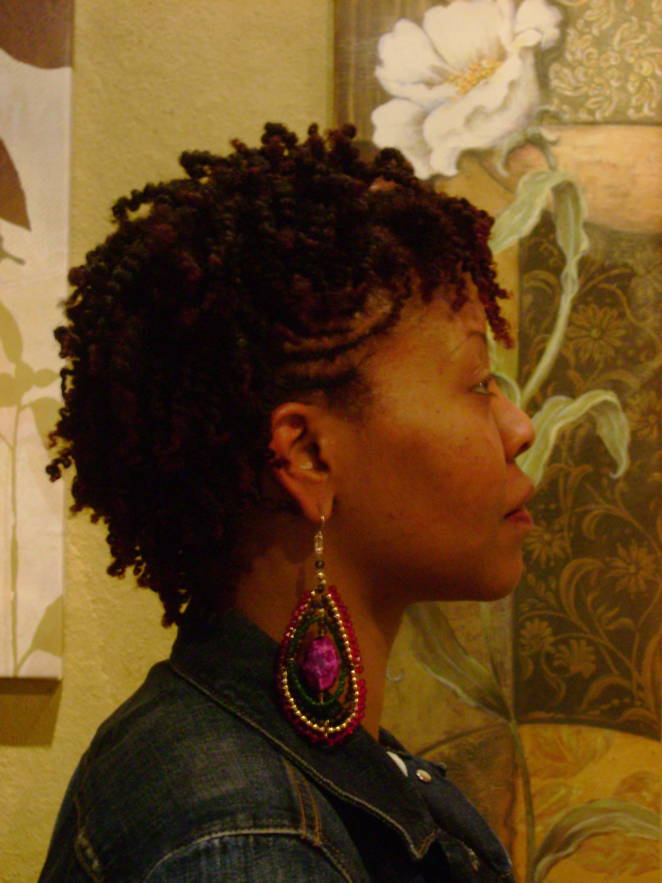 Two strand twist with extensions twist hairstyles on before two strand twist with extensions twist hairstyles on before after two strand twist baditri Images