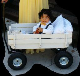 elegant wedding decorations for wagon for child - Google Search ...