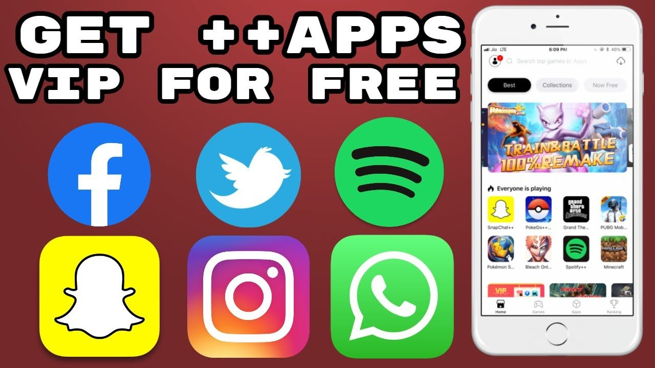 Get ++ Apps/ Download ++Apps For Free Tweaked Apps