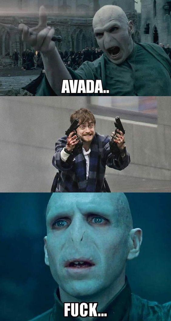 Harry Potter Vs Voldemort Meme Harry Potter Voldemort Harry Potter Vs Voldemort Harry Potter Memes Hilarious