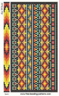 free-beading-pattern-checkbook-cover-southwestern-01