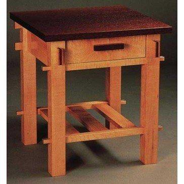 Woodworker S Journal Craftsman End Table Plan Rockler Woodworking And Hardware