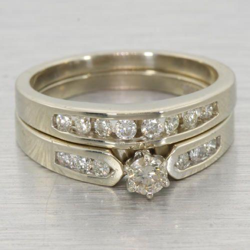 Modern Gold Engagement Rings