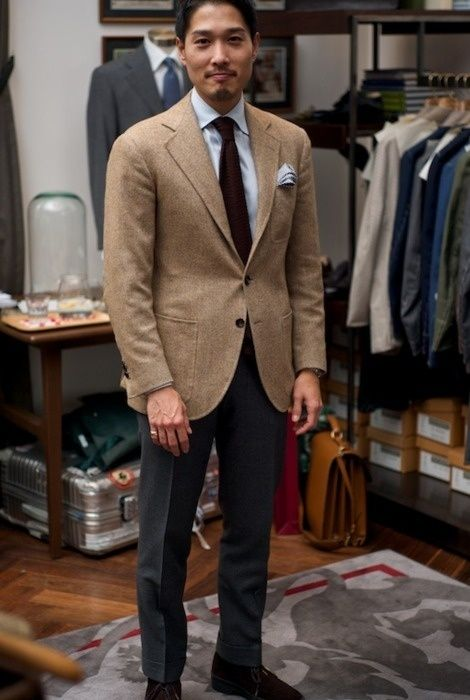 26bc9ef0cfc What goes with a brown blazer  - Quora