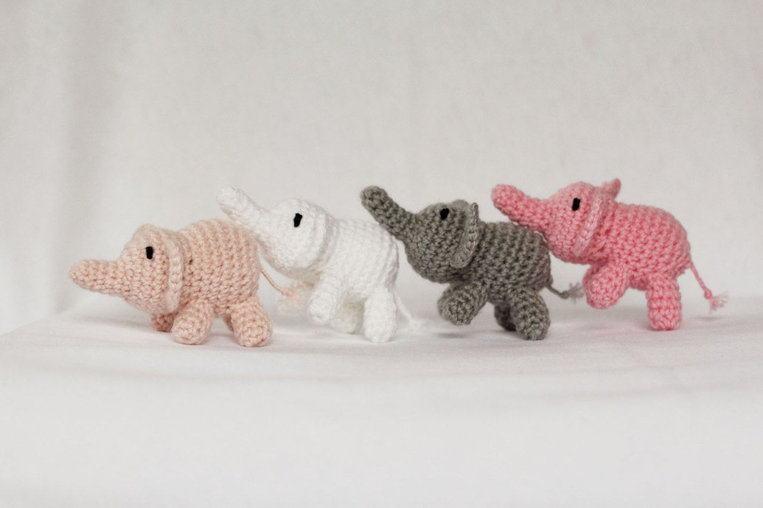 Crochet Elephant Amigurumi Free Pattern with Video | Crochet baby ... | 1000x1500