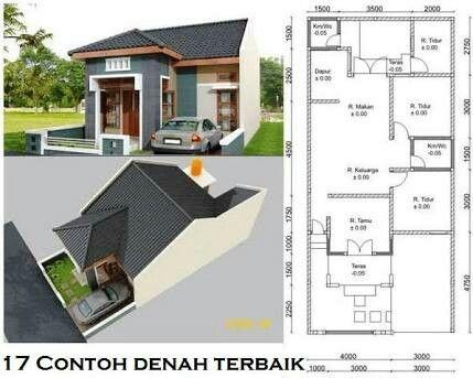 desain rumah minimalis modern ukuran 6x11 - desain minimalis