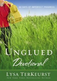 "Loving Mommahood's Review of ""Unglued- a Devotional"" by Lysa Terkeurst"
