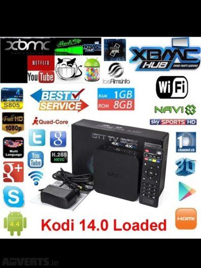 Android Tv Box Mxq Hd Original Packed And Fully Loaded On