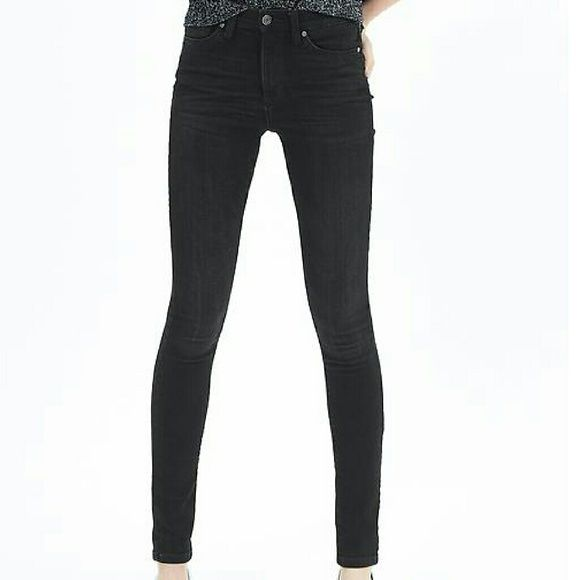 154858c8c0767 Black skinny jeans Banana Republic denim Black straight leg skinny jeans.  They aren't super tight, so they are in between a skinny and straight leg  cut.