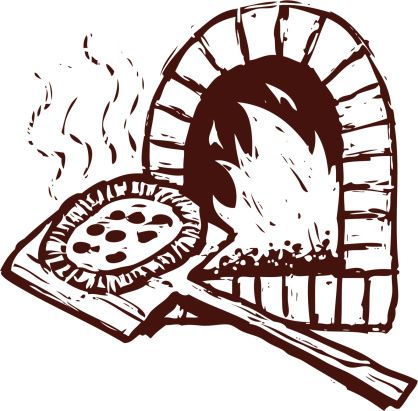 Pizza Oven Clip Art Vector Images Illustrations