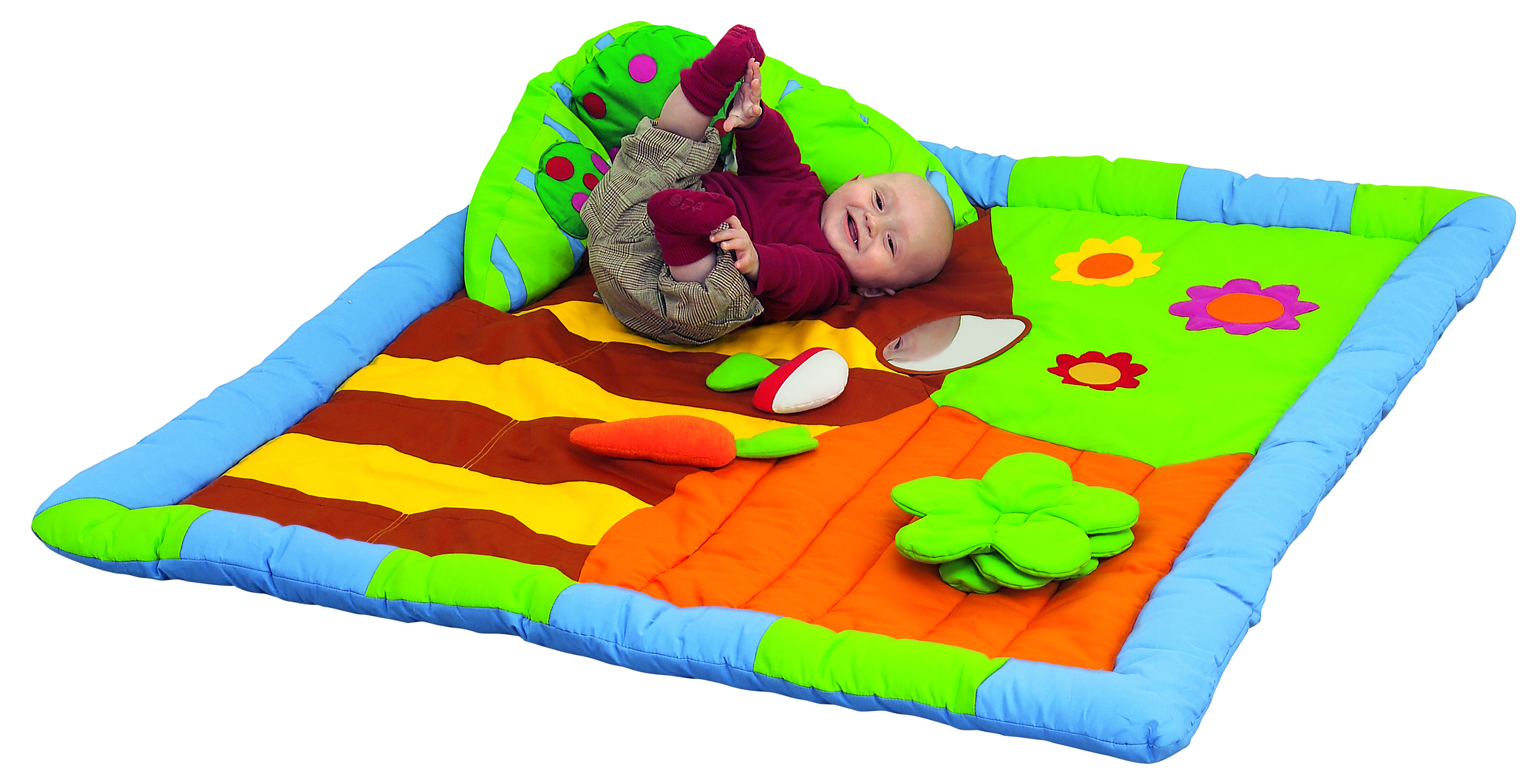 The Countryside 3d Activity Mat From Wesco Soft Easy To Clean And Perfect For Exploring Babymats Babyprodu Activity Mat Baby Play Mat Preschool Supplies