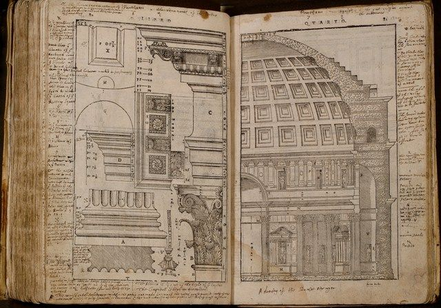 Bodleian Library as a copy of Thomas Jefferson  - copy blueprint of a book