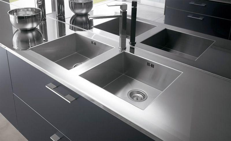 Smoke Grey Laminate Kitchen Cabinets One By