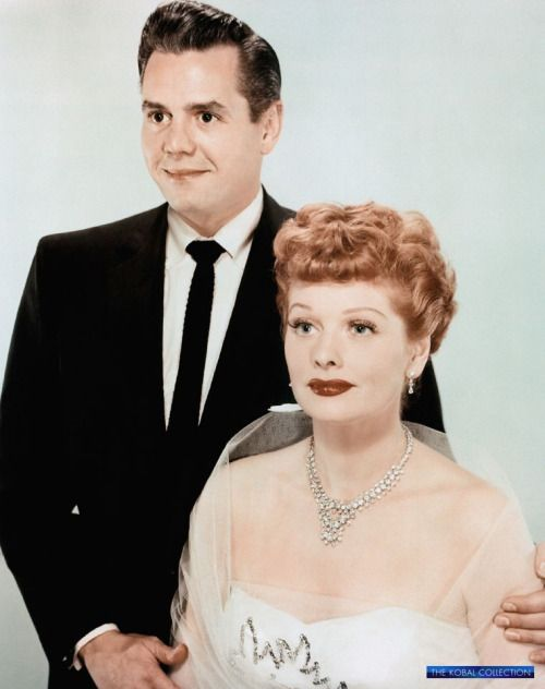 """theclutteredclassicattic: """" Lucille Ball and Desi Arnaz, 1951 """""""