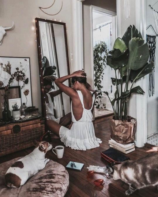 pflanze im schlafzimmer flur. Black Bedroom Furniture Sets. Home Design Ideas