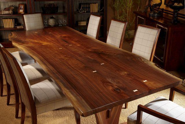 Living Wood Design Silver Maple  Homes  Pinterest  Custom Custom Real Wood Dining Room Sets Design Inspiration