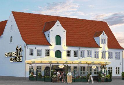 Hansens Brauerei – fresh beer http://www.gluecksburg-urlaub.de ...