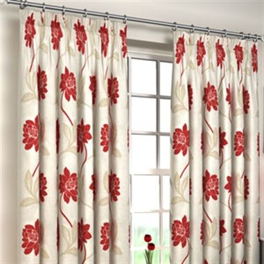 adelaide red lined curtains harry corry