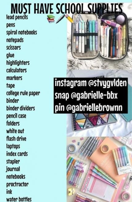 Diy school supplies for teens education 34+ Ideas for 2019 - maaghie