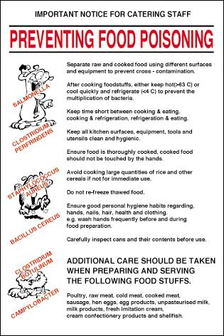 Preventing Food Poisoning | Food Safety | Pinterest | Food ...