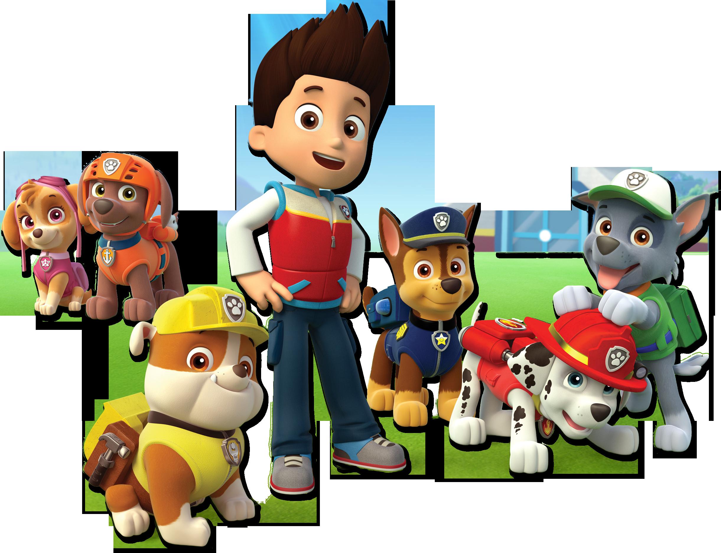 Paw Patrol Characters For Designs Birthdays Paw Patrol Birthday