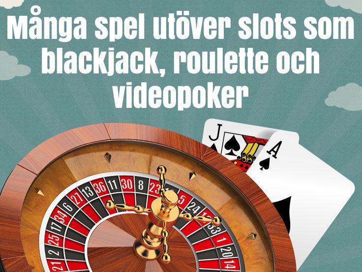 Massor av andra spel! http://www.kasino.se/thrills/