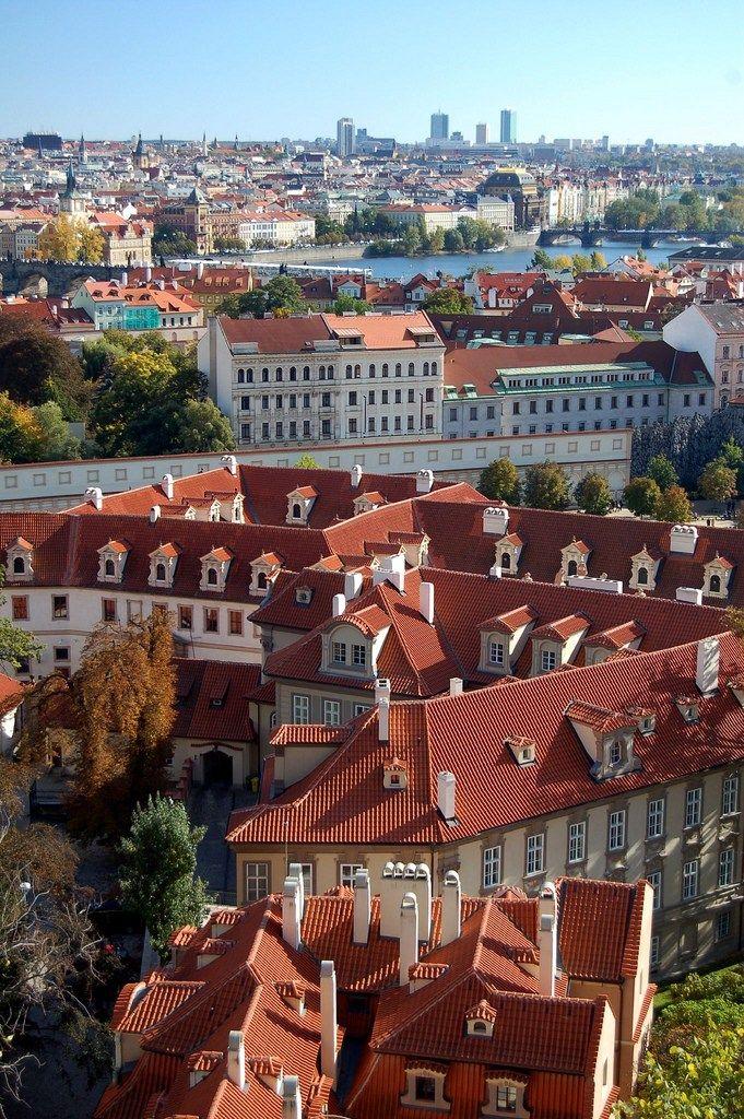 lugares para ver Praga do alto