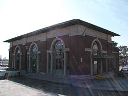 The Peachtree Southern Railway is Atlanta's passenger rail terminal. It was designed by Hentz, Reid & Adler who thought of if as an Italian Renessaince pavilion. It opened in 1918 and still provides service.