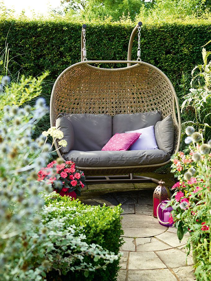 Bramblecrest Frampton Double Cocoon with Cushions   Hanging chair by ...
