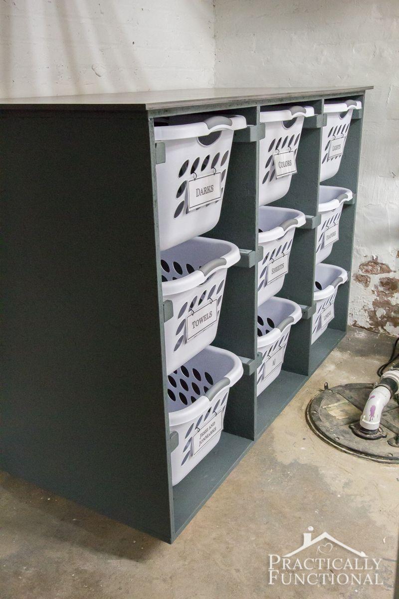 Simple Diy Laundry Basket Dresser Waschekorb Kommode Diy