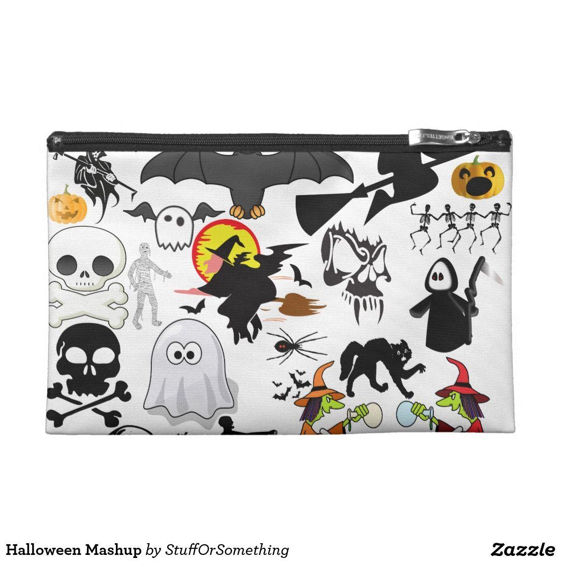 Halloween Mashup Travel Accessory Bag
