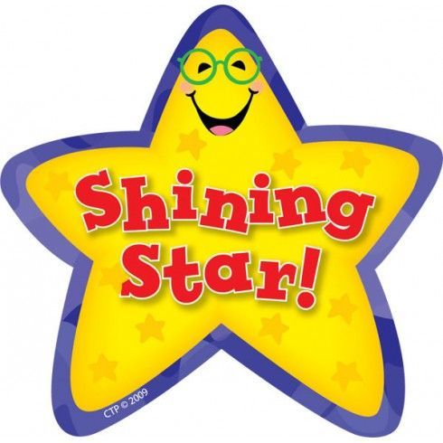 shining star stickers ctp1071 stickers pinterest star rh pinterest co uk shining star clipart images shining star clipart