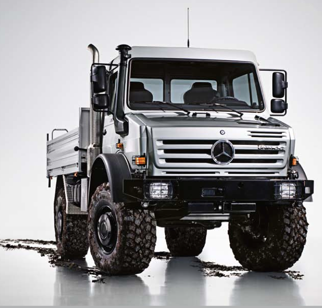 Mercedes Unimog This What I Drove For The Supplies And Mail Run