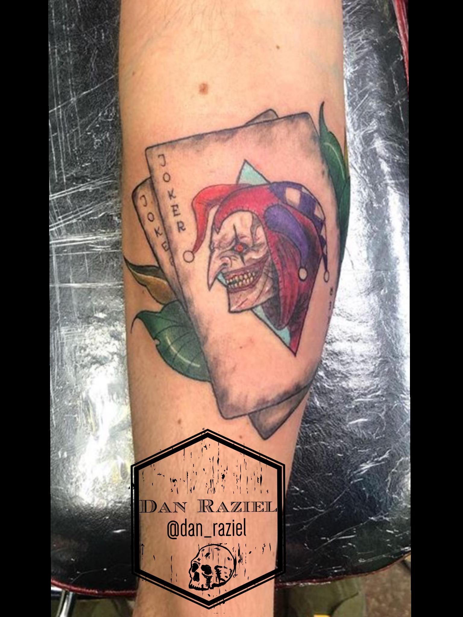 Joker Cards Tattoo Card Tattoo Joker Card Tattoo Tattoos