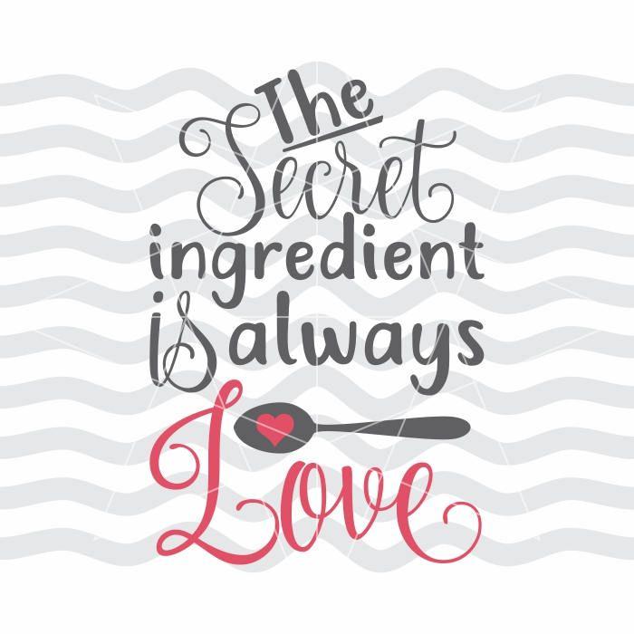 Download Secret ingredient, Ingredient is love, My secret ...
