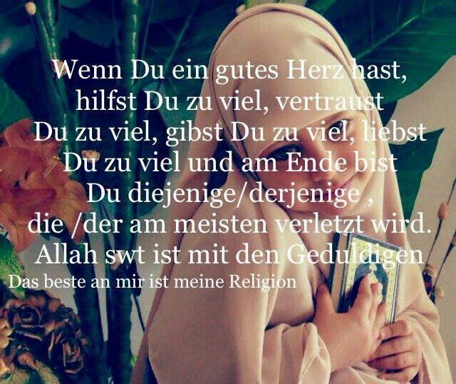 Zitate  C B Islam  C B Wenn Du Ein Gutes Herz Hast Gutes Herz Bilder Mit Spruchen