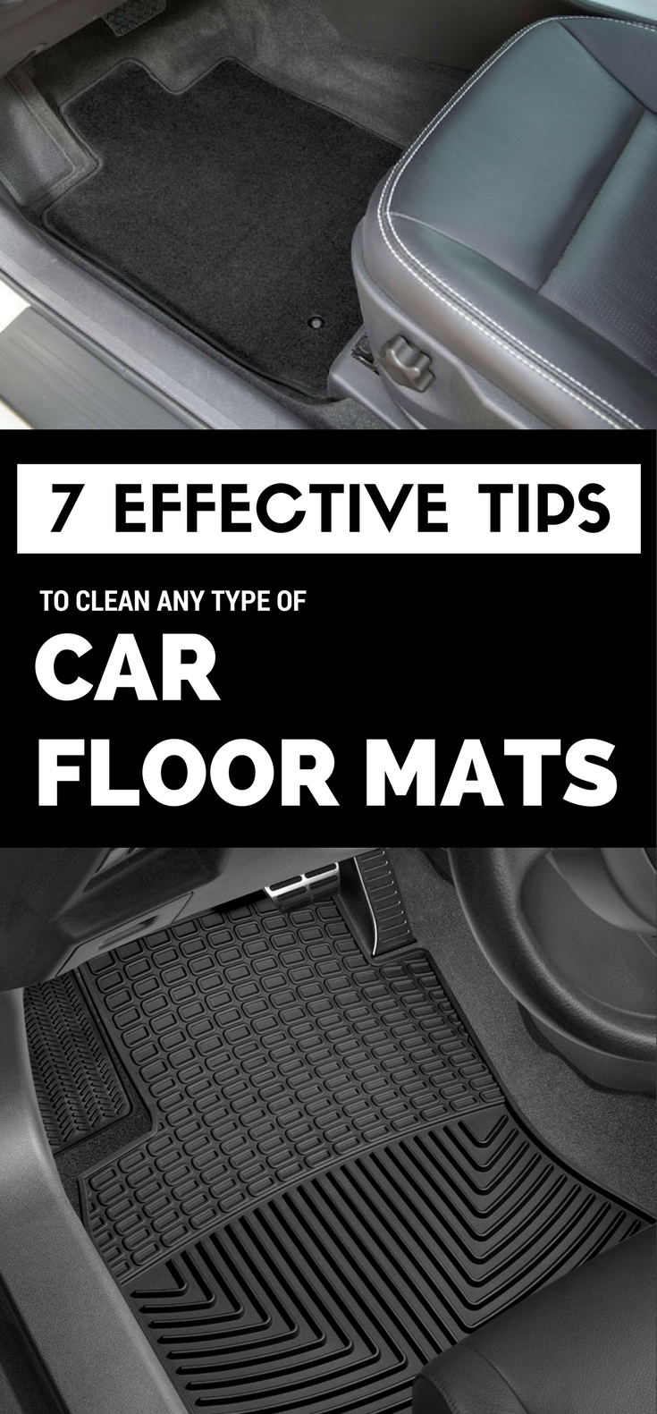 7 Effective Tips To Clean Any Type Of Car Floor Mats In 2020 Car Floor Mats Method Cleaning Products Floor Cleaning Hacks