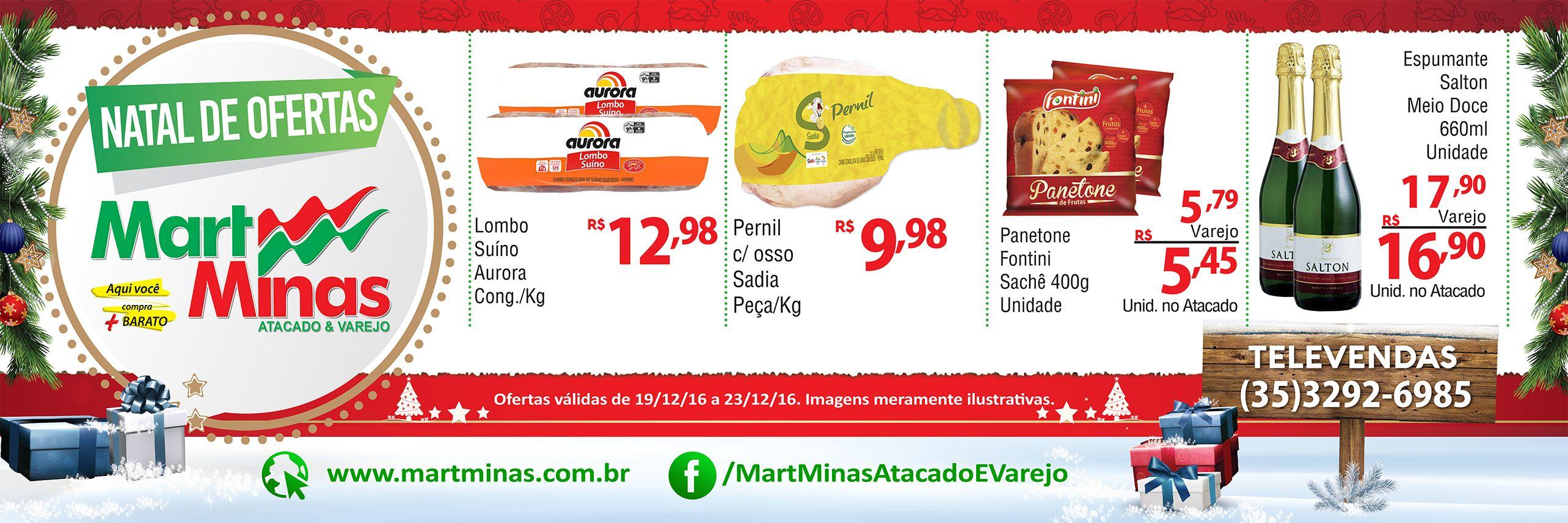 Outdoor De Natal Mart Minas Alfenas Mg Supermercado Espumante Panetone