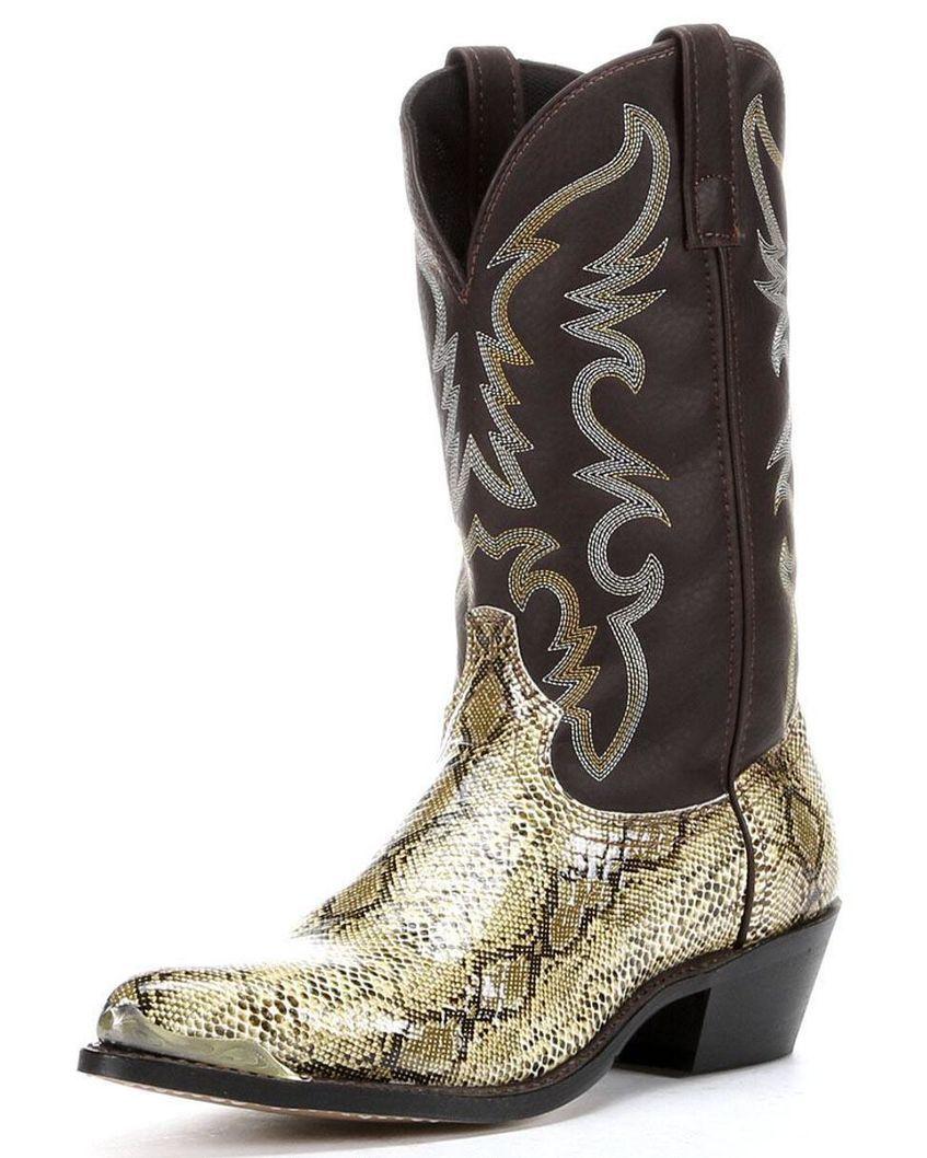 bcce4dcfb8c Laredo Snake Print Cowboy Boots   Wardrobes   Boots, Cowboy boots ...