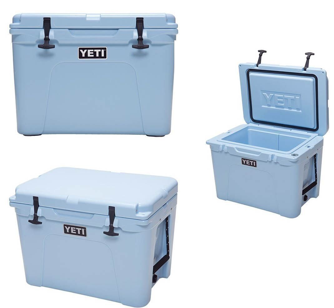 Yeti Tundra 50 Cooler Polyethylene 45.6 Qt 24 In. L X 17-1/2 In. W X 18 In. H Ice Blue *** Find out more about the great product at the image link.