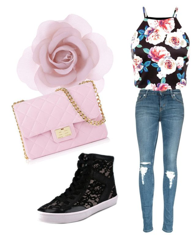 """""""a day outside"""" by aya-kaddoura ❤ liked on Polyvore featuring beauty, Accessorize, Rebecca Minkoff and Design Inverso"""